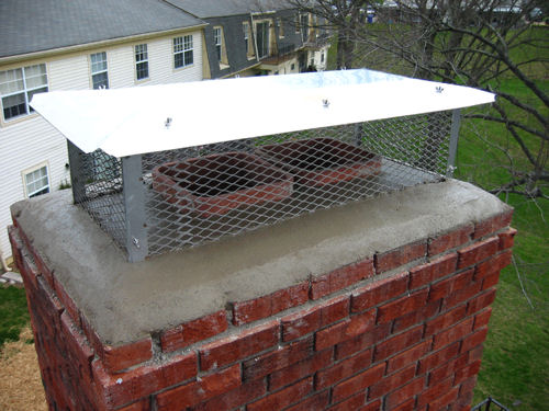 Masonry Services After - Indian Summer Chimney Services